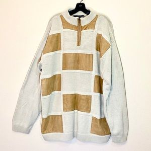 Oversized Vintage Sweater Wool Big Tall Plus Size